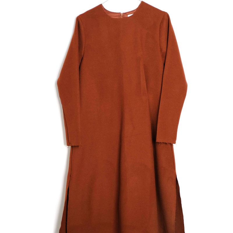【 WOLF&RITA WOMEN 2018AW 】 PATRICIA - Dress / BRICK