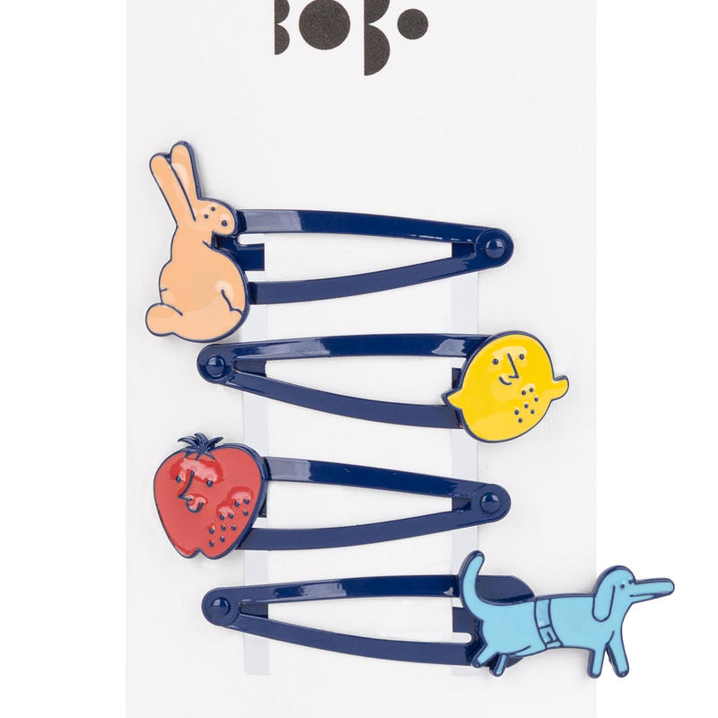 【 Bobo Choses 2019SS 】119293 Hairclips Pack x4