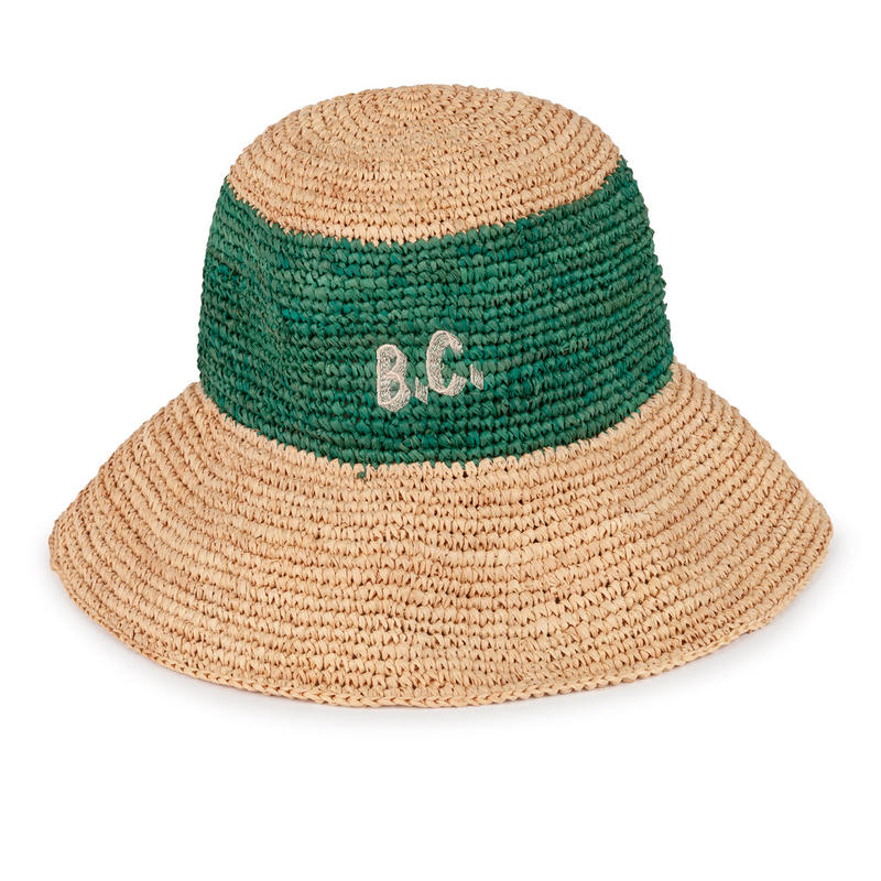 【 Bobo Choses 2019SS 】119242 B.C. Wicker Hat