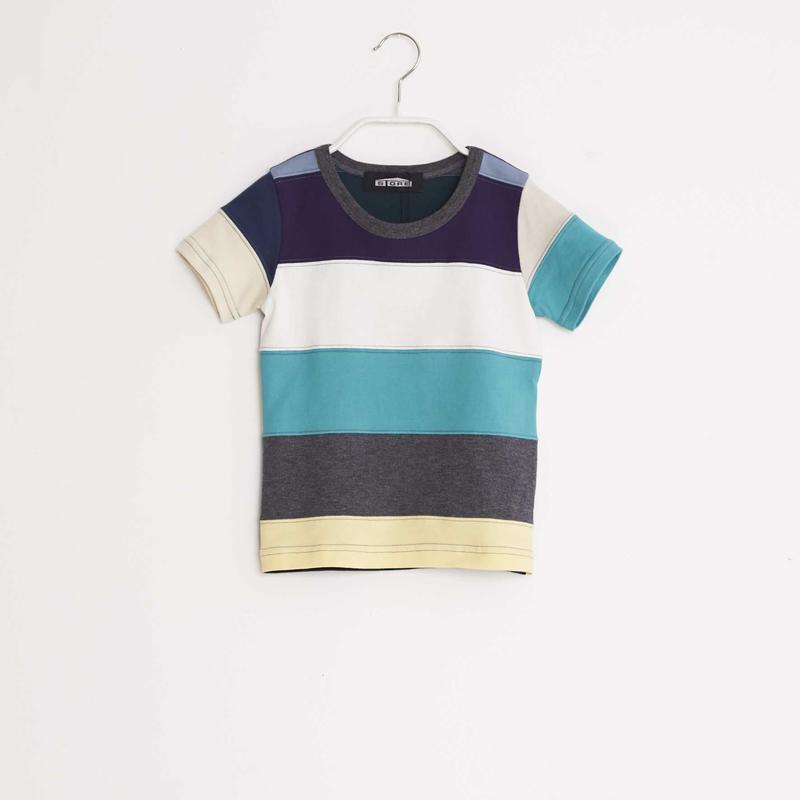 【 STORE 19SS】ボーダーTシャツ /  #1 / 100cm