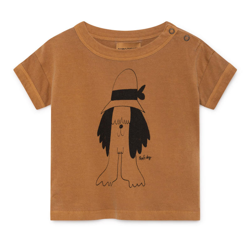 【 Bobo Choses 2019SS 】119155 Paul's Short Sleeve T-Shirt