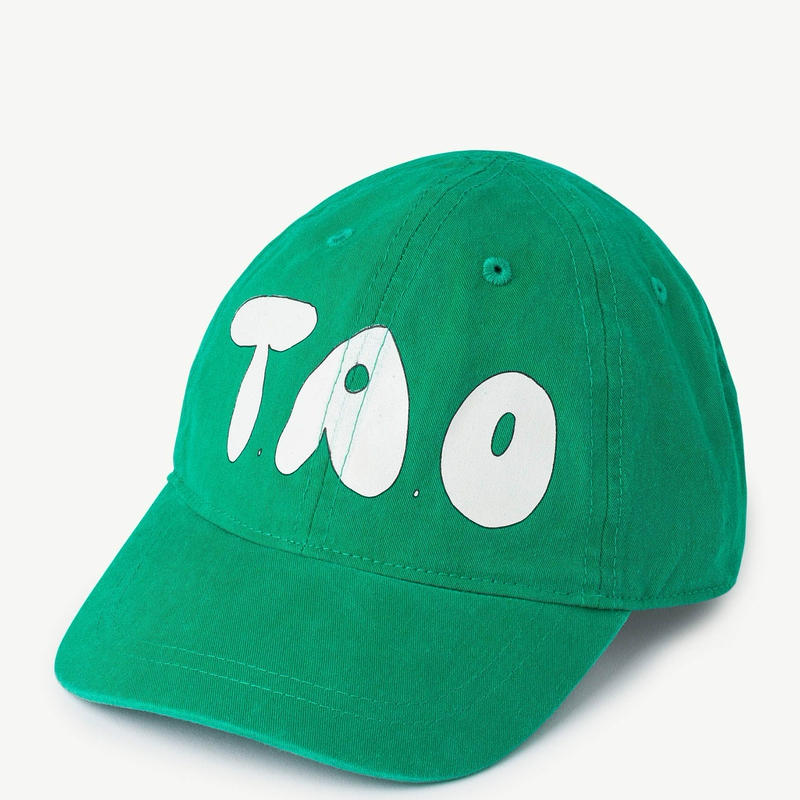 【 THE ANIMALS OBSERVATORY 2019SS 】HAMSTER KIDS ONESIZE CAP  / green