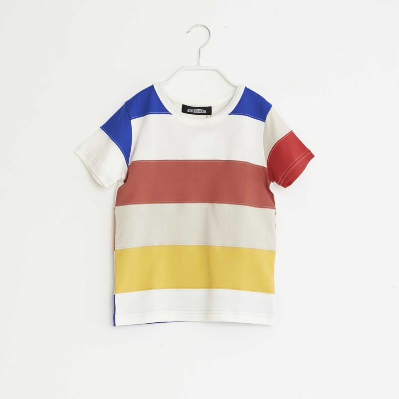 【 STORE 19SS】ボーダーTシャツ /  #1 / 120cm