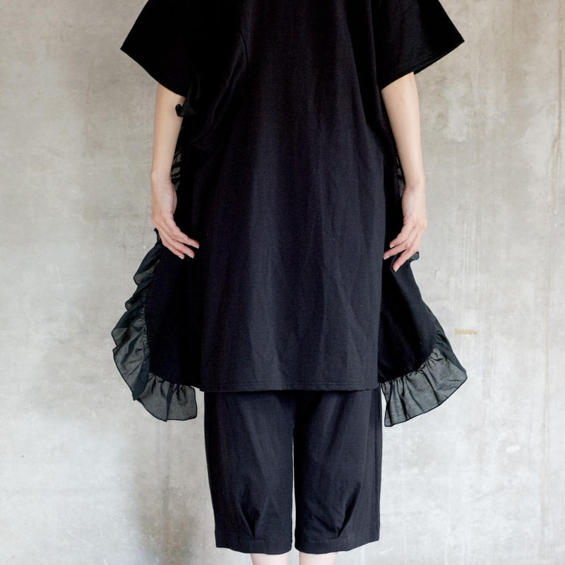 【 UNIONINI 2019SS 】OP-055 ◯△ dress /  / Black  / 4 -10歳