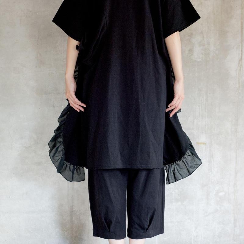 【 UNIONINI 2019SS 】OP-055 ◯△ dress /  / Navy  / 4 -10歳