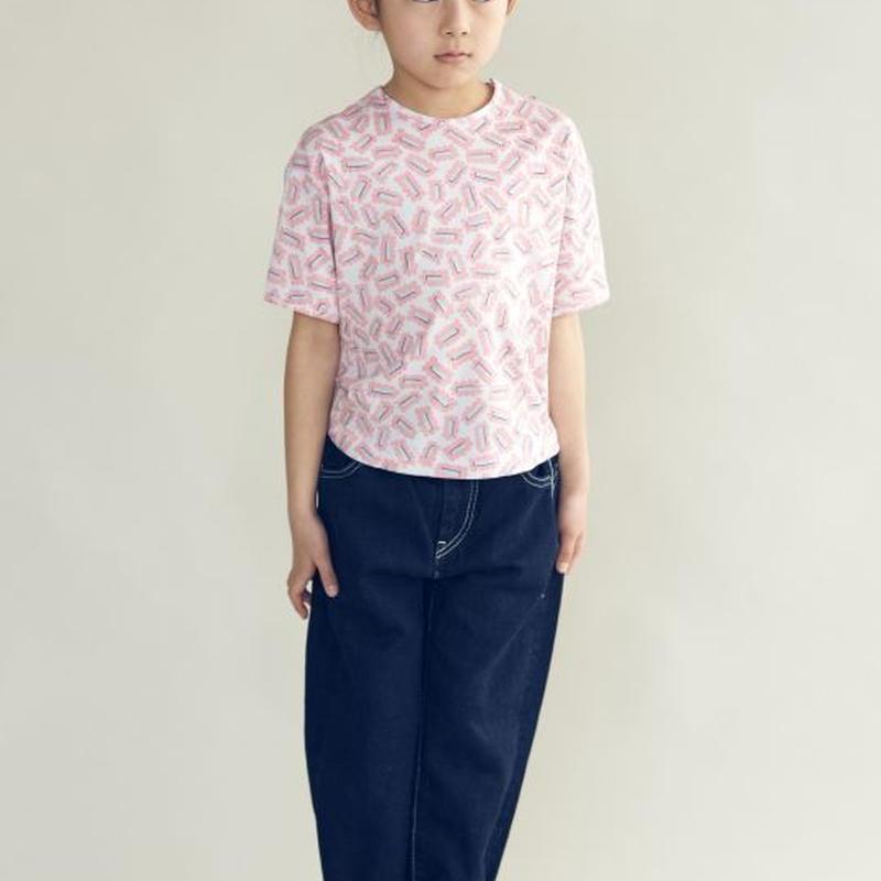 """【 ミナペルホネン 19SS 】XS8973P biscuits """"トップス"""" / pink / 80-100cm"""