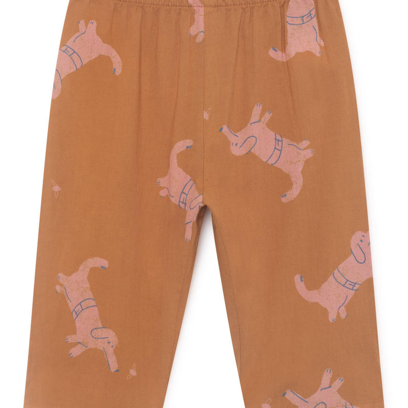 【 Bobo Choses 2019SS 】119203 Dogs Baggy Trousers