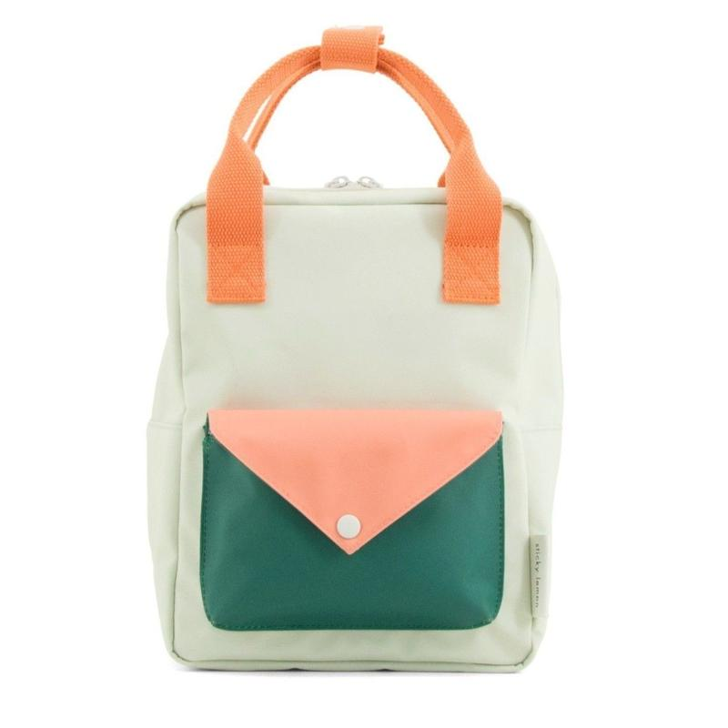 【 Sticky Lemon 】 BACKPACK ENVELOPE / SAGE GREEN / size S
