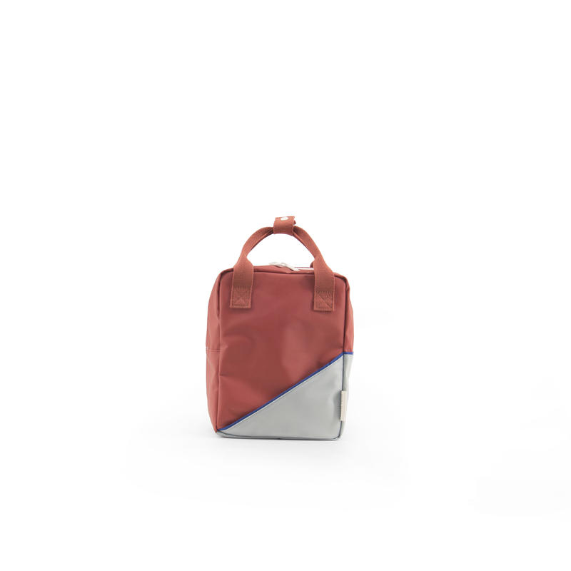 【 Sticky Lemon 】 BACKPACK DIAGONAL / FADED RED / size S