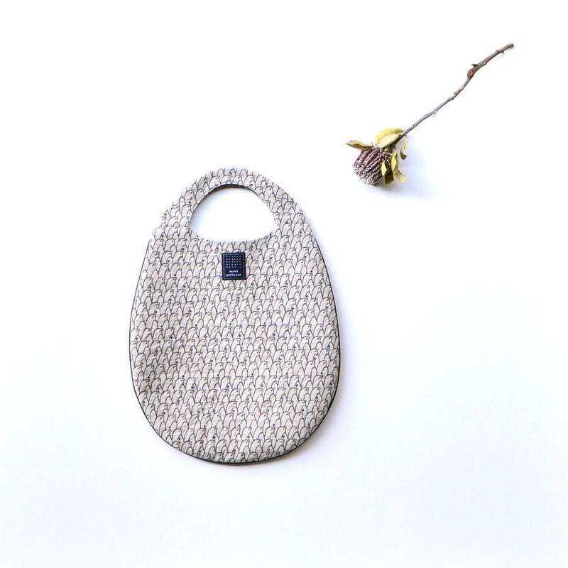"""【 ミナペルホネン 19SS 】XS9443 lintu """"エッグバッグ"""" / beige"""