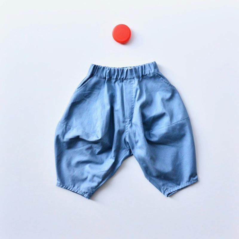 {限定}【 nunuforme 2019SS 】nf11-621-005ポインテットパンツ / BlueGrey (ピーカブーヤ別注カラー)