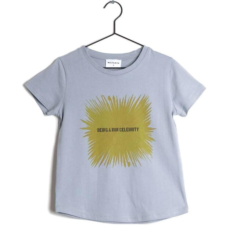 【 WOLF & RITA 2019SS 】SEBASTIAO - T-shirt / PALE BLUE