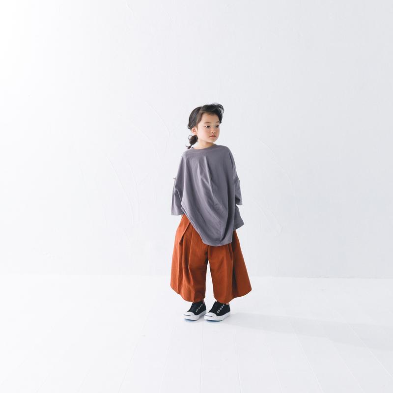 【 nunuforme 2019SS 】nf11-617-012ビエラワイドパンツ / Brown