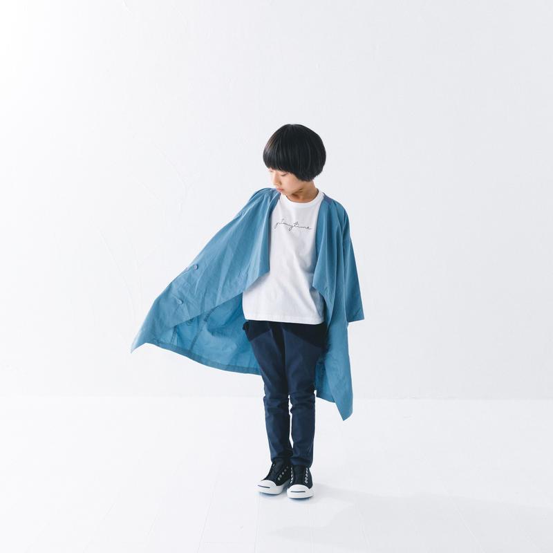 【 nunuforme 2019SS 】nf11-209-065A クロスコート / LightBlue / レディースサイズ