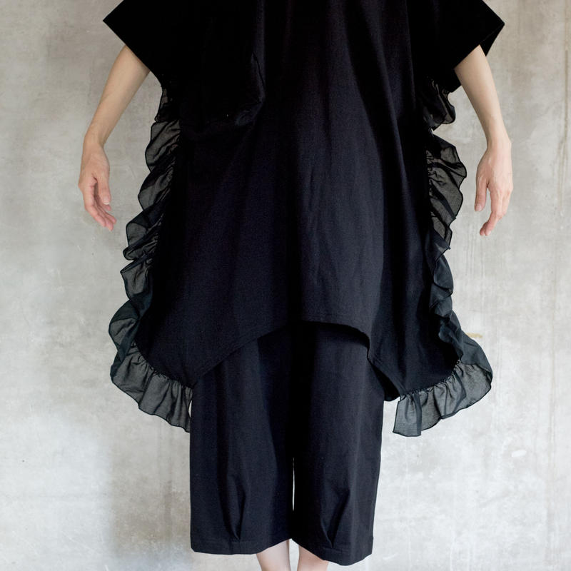 【 UNIONINI 2019SS 】OP-055 ◯△ dress /  / Black  / 10 -12歳