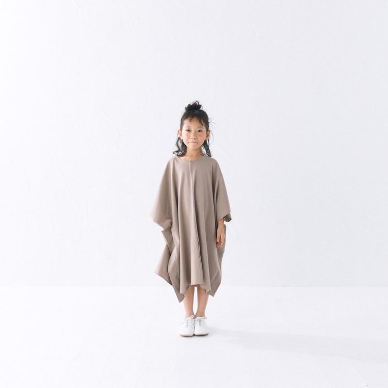 【 nunuforme 2019SS 】nf11-962-501スクエアワンピ / Biege