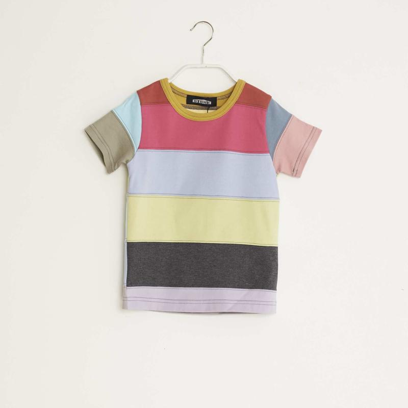 【 STORE 19SS】ボーダーTシャツ /  #1 / 110cm