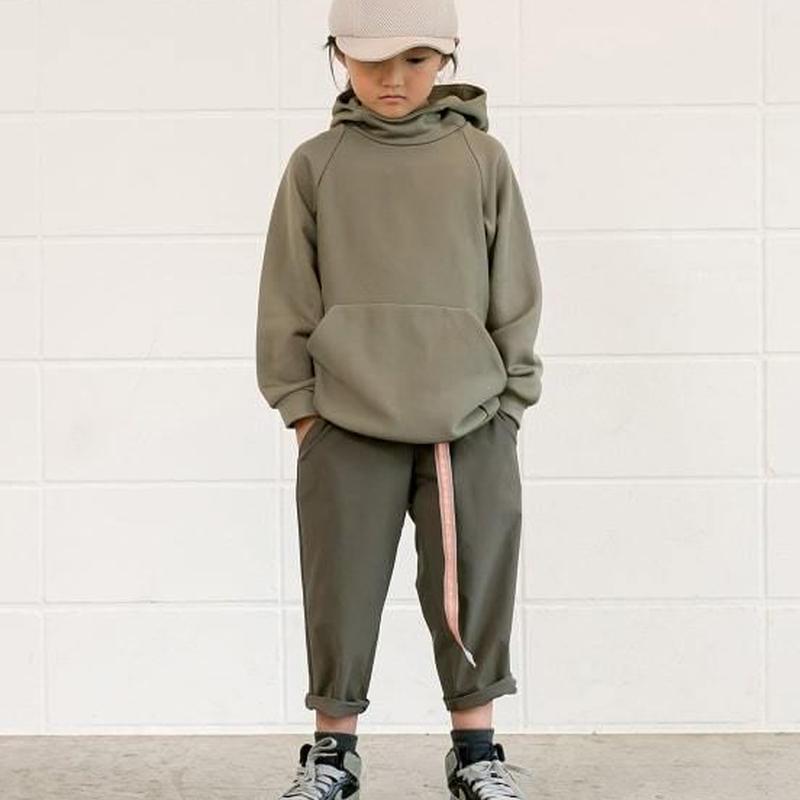 【 MOUN TEN. 2019SS 】nylon stretch pants / kahki / 95-140