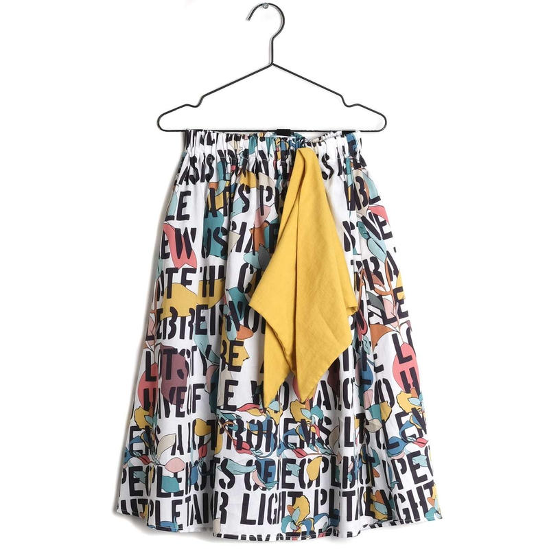 【 WOLF & RITA 2019SS 】LURDES - Skirt / KIDS MOTTO