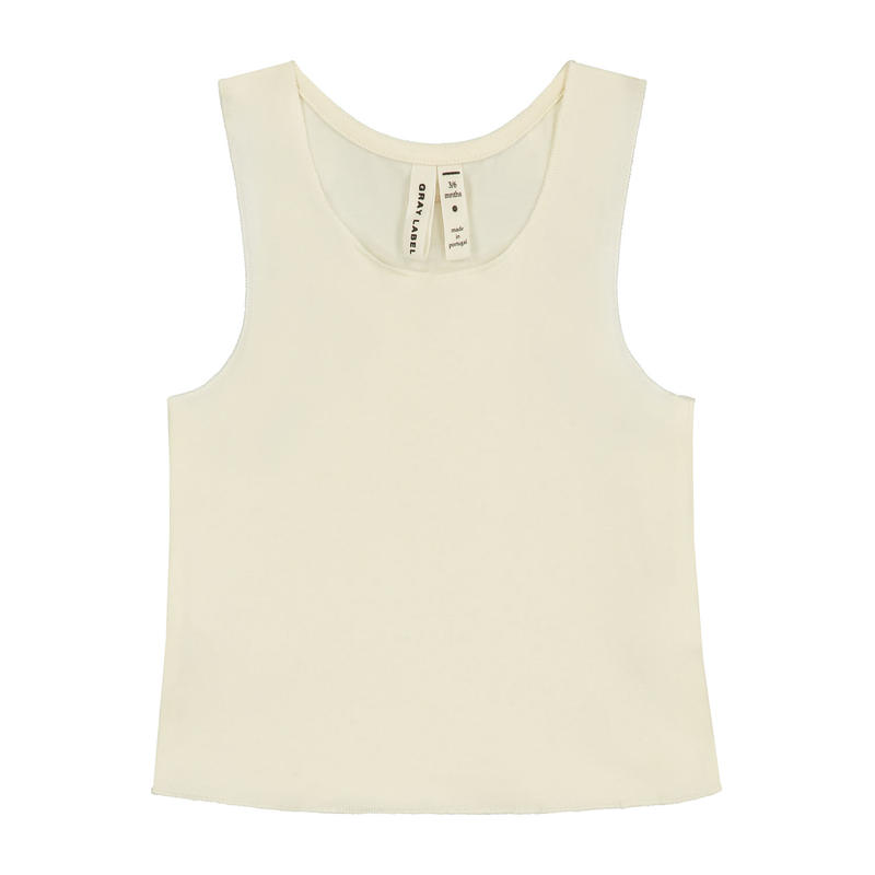 【 GRAY LABEL 2019SS】Baby Tank Top / Cream / 9-12m