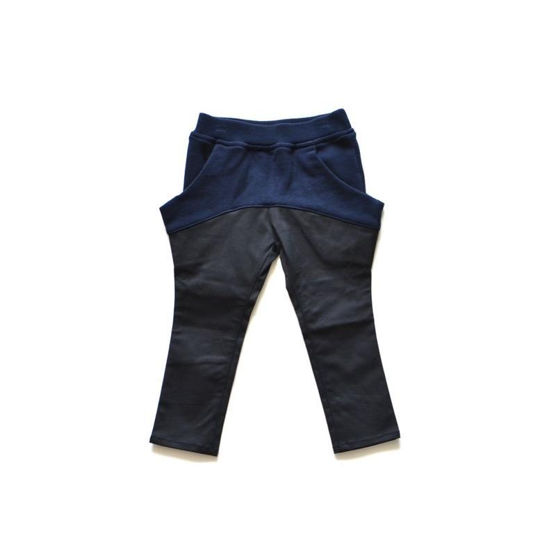 【 nunu forme 2018AW 】10-620-047 ドロップタイトパンツ / Black