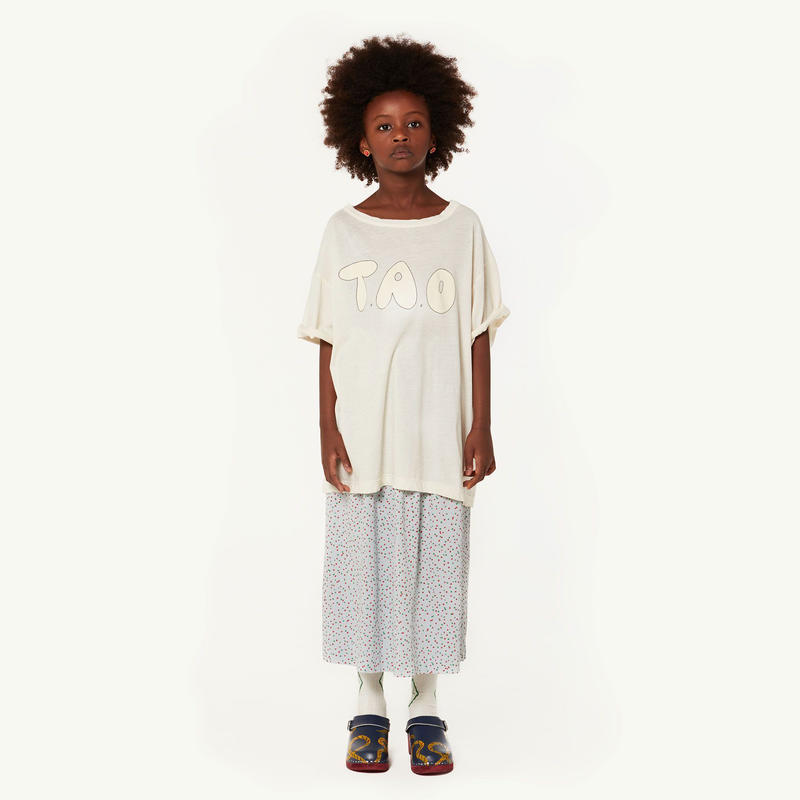 【 THE ANIMALS OBSERVATORY 2019SS 】ROOSTER OVERSIZE KIDS T-SHIRT / cream