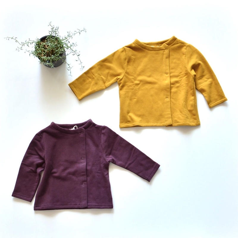 【 GRAY LABEL 2018AW】 Baby Button Cardigan / 70-75cm