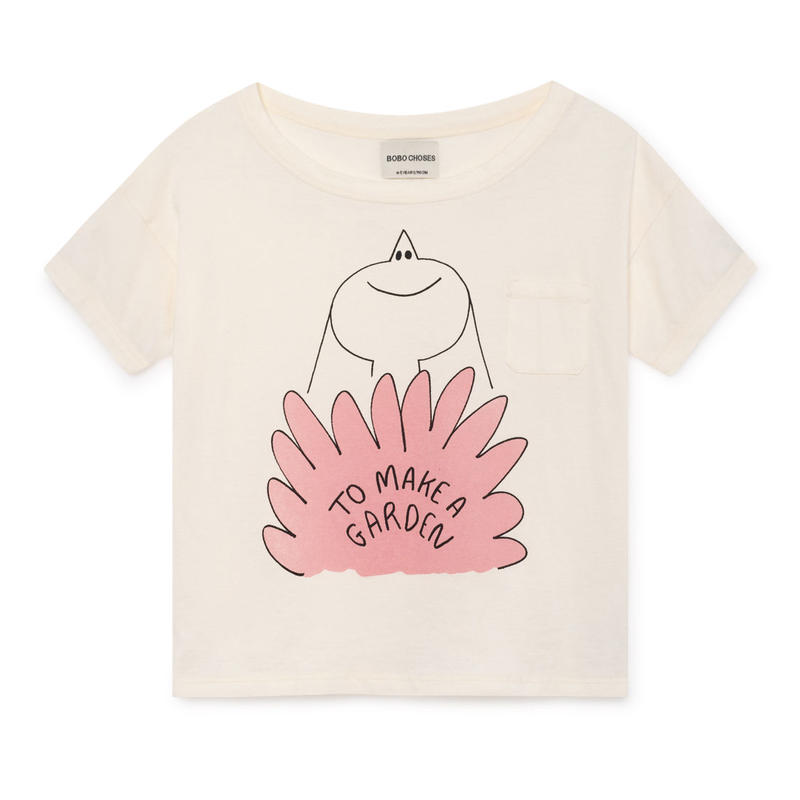 【 Bobo Choses 2019SS 】119001 Lavander Short Sleeve T-Shirt