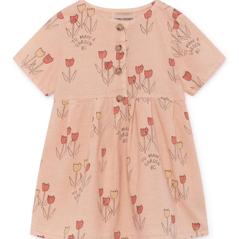 【 Bobo Choses 2019SS 】119214 Poppy Prarie Princess Dress