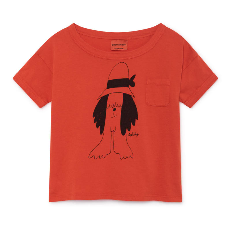 【 Bobo Choses 2019SS 】119010 Paul's Short Sleeve T-Shirt
