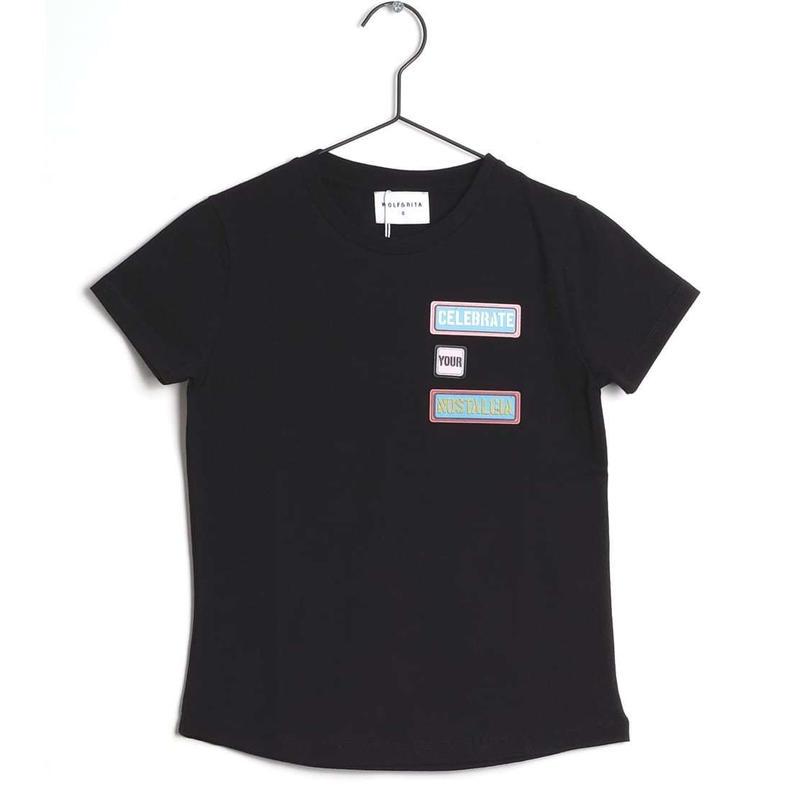 【 WOLF & RITA 2019SS 】SEBASTIAO - T-shirt / BLACK