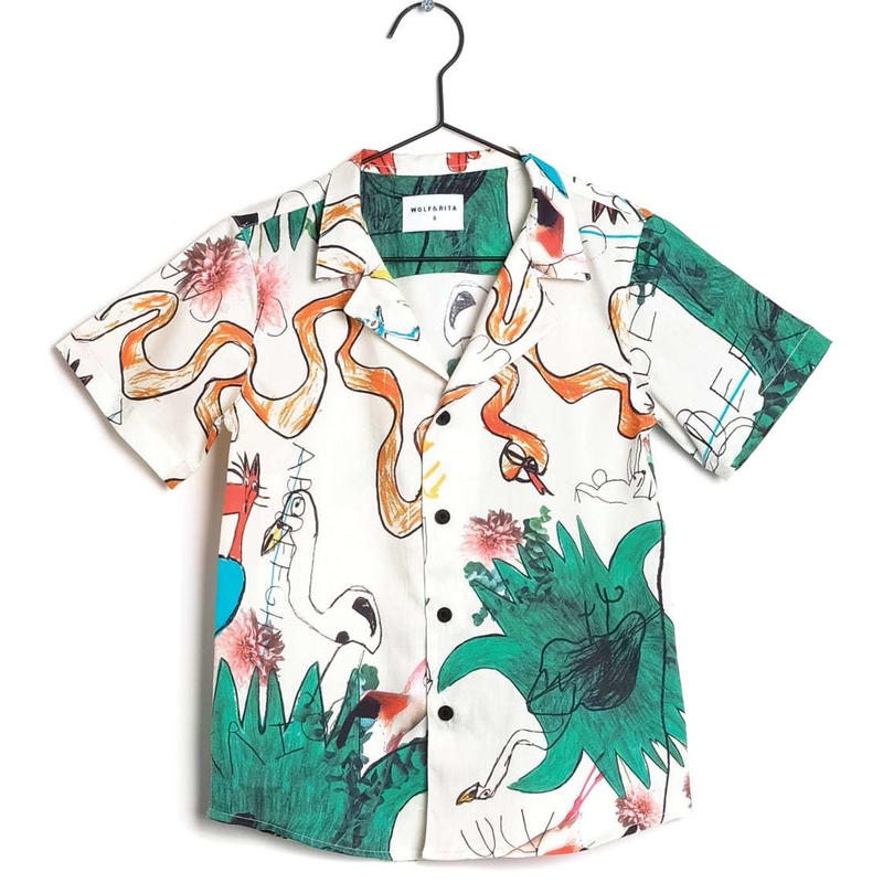 【 WOLF & RITA 2019SS 】BRUNO - Shirt / SNAKES AND LADDERS