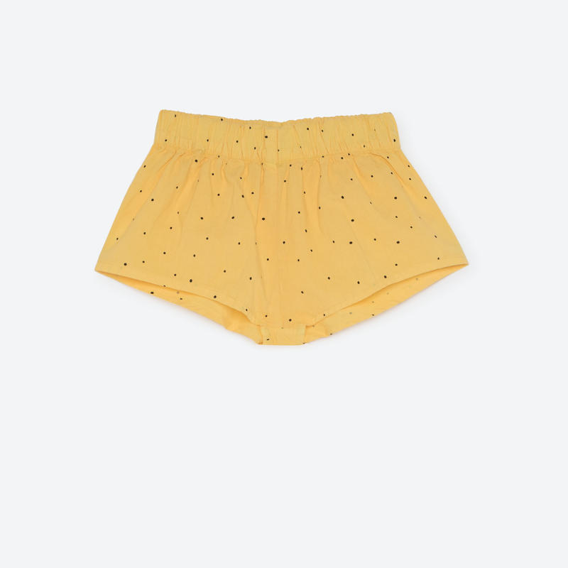 【THE ANIMALS OBSERVATORY 2017SS】CLAM SHORT PANTS / YELLOW / 4Y - 8Y