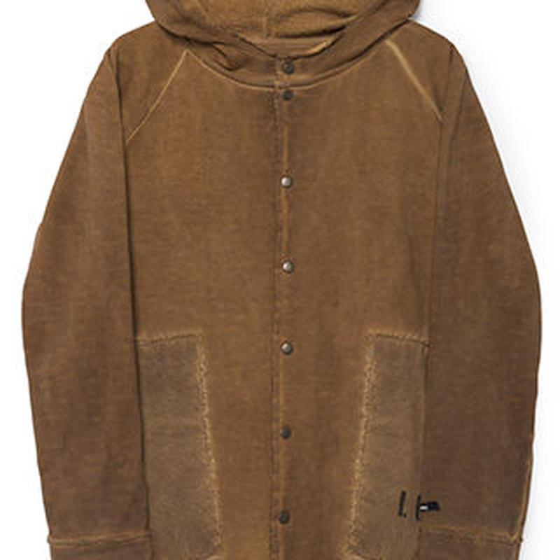 【 Little Creative Factory 2018AW】Hooded Stretchy Jacket / RUSTY