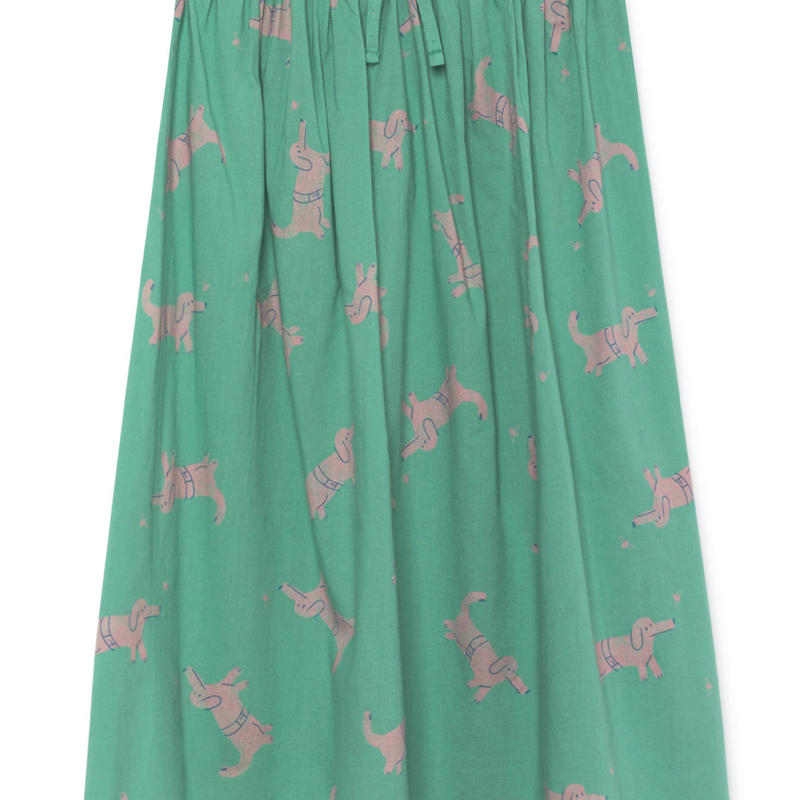 【 Bobo Choses 2019SS 】119108 Geese Midi Skirt