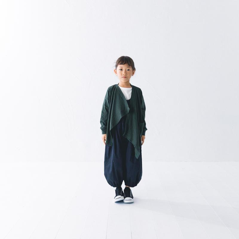 【 nunuforme 2019SS 】nf11-926-566ドレープカーディガン / Green