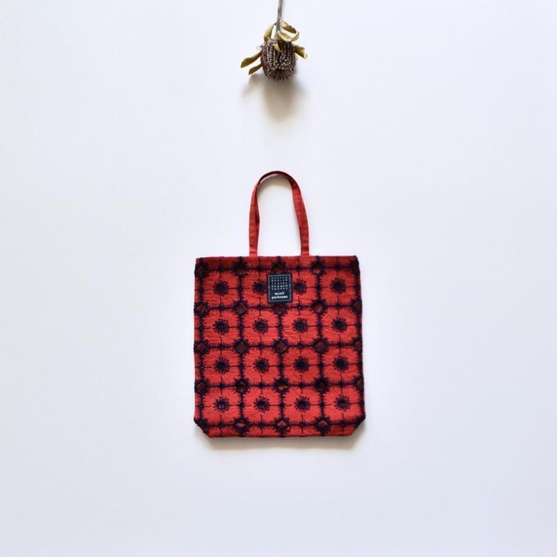 """【 ミナペルホネン 19SS 】XS9442 toast bag """"anemone""""  / red"""