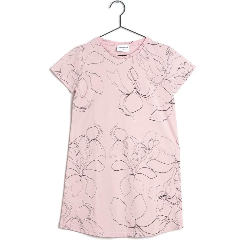 【 WOLF & RITA 2019SS 】GLORIA - Dress / PINK SKETCHES