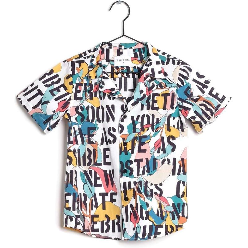 【 WOLF & RITA 2019SS 】BRUNO - Shirt / KIDS MOTTO