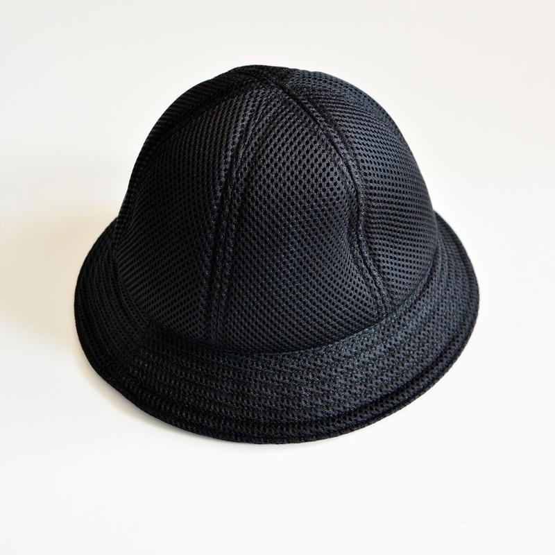 【 MOUN TEN. 2019SS 】mesh metrohat / ブラック