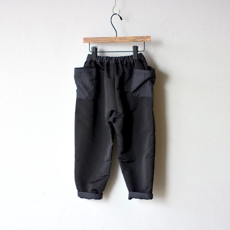 【 michiricoi 2018AW 】18AW-20 パンツ / Black