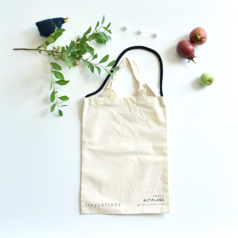 【tiny cottons 2017AW】ALTIPLANO merchandise bag