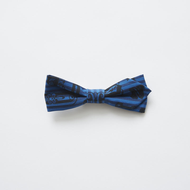 【 eLfinFolk 2019SS 】elf-111A05 bow tie / blue