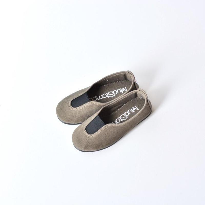 【 La Cadena 2018SS 】 SLIP ON / Olive x Black / size 15〜19cm