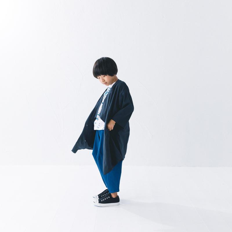 【 nunuforme 2019SS 】nf11-209-065 クロスコート / Navy / 145cm