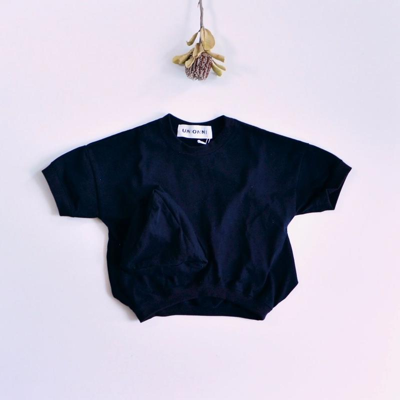 【 UNIONINI 2019SS 】CS-039 ◯△ T-shirt / Navy  / 10 - 14歳