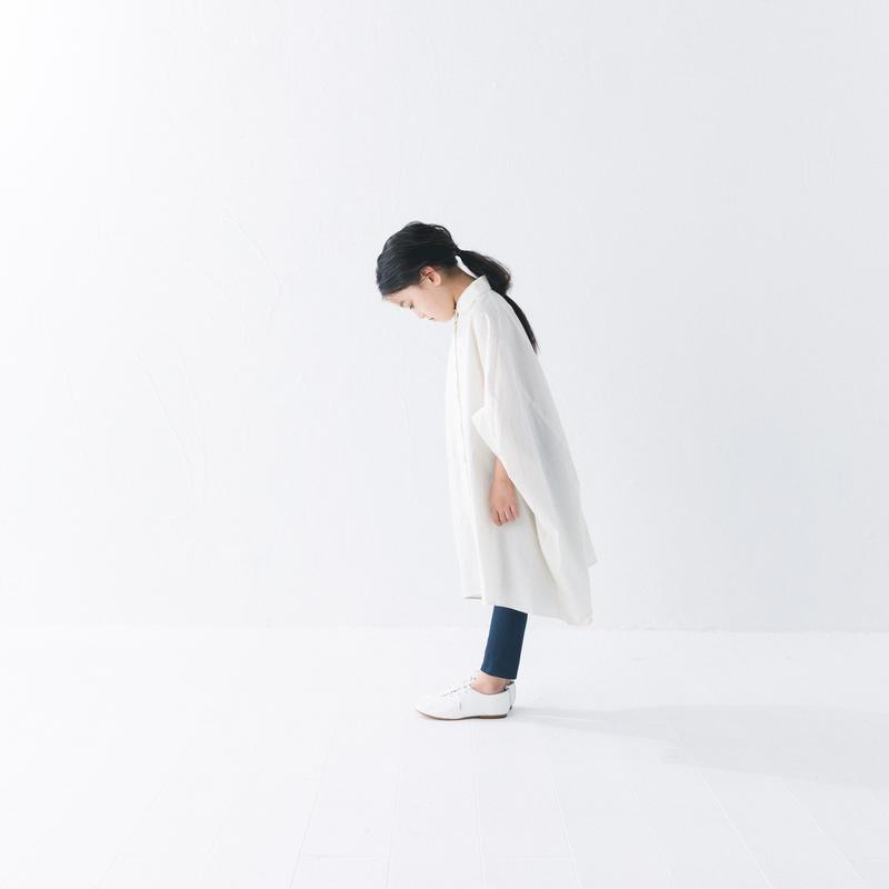 【 nunuforme 2019SS 】nf11-415-001A サークルシャツワンピース / Ivory / レディースサイズ