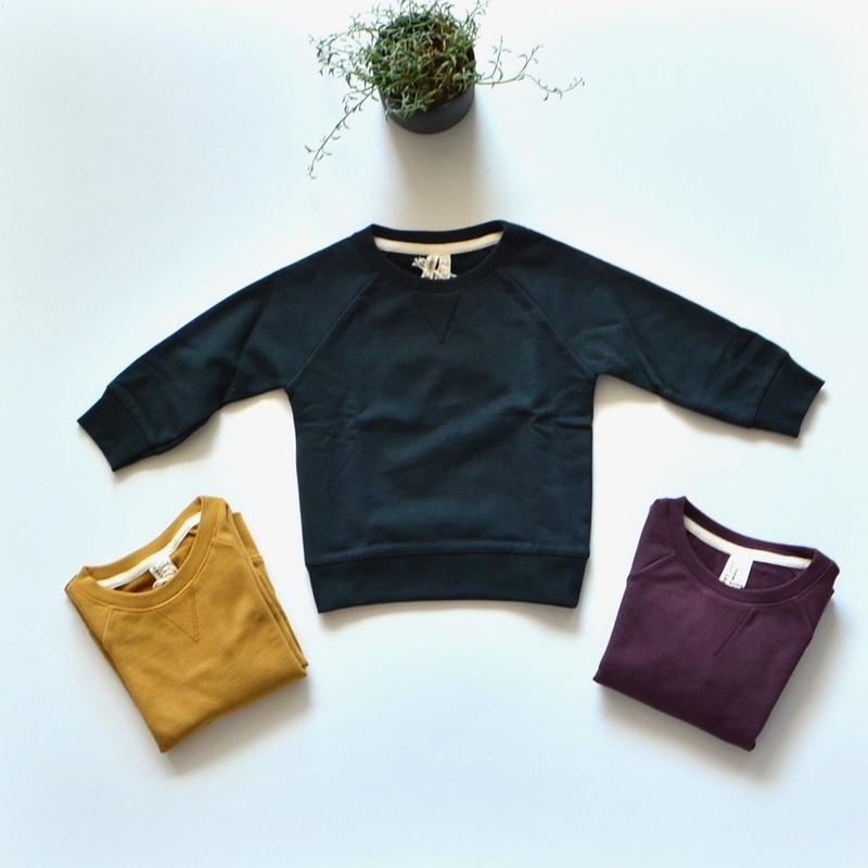 【 GRAY LABEL 2018AW】 Crewneck Sweater for BABY