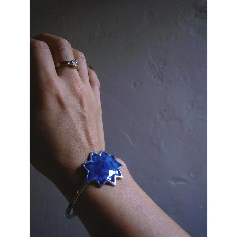 【星のバングル -silver】[PEKI!RARIGON]