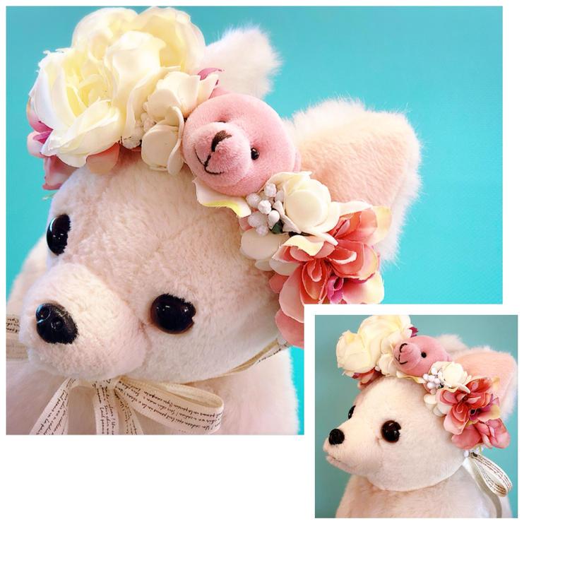 🌺花冠🌺  Pink  Bear